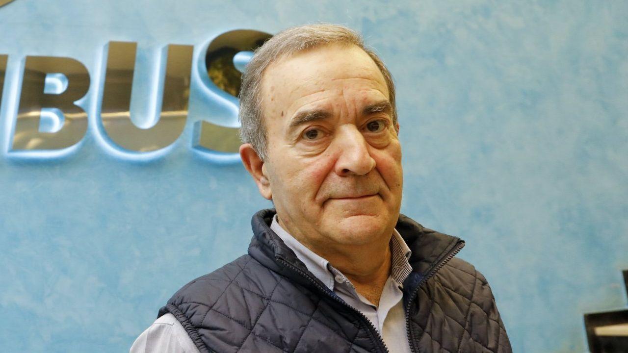 Raúl López, gerente de Monbus