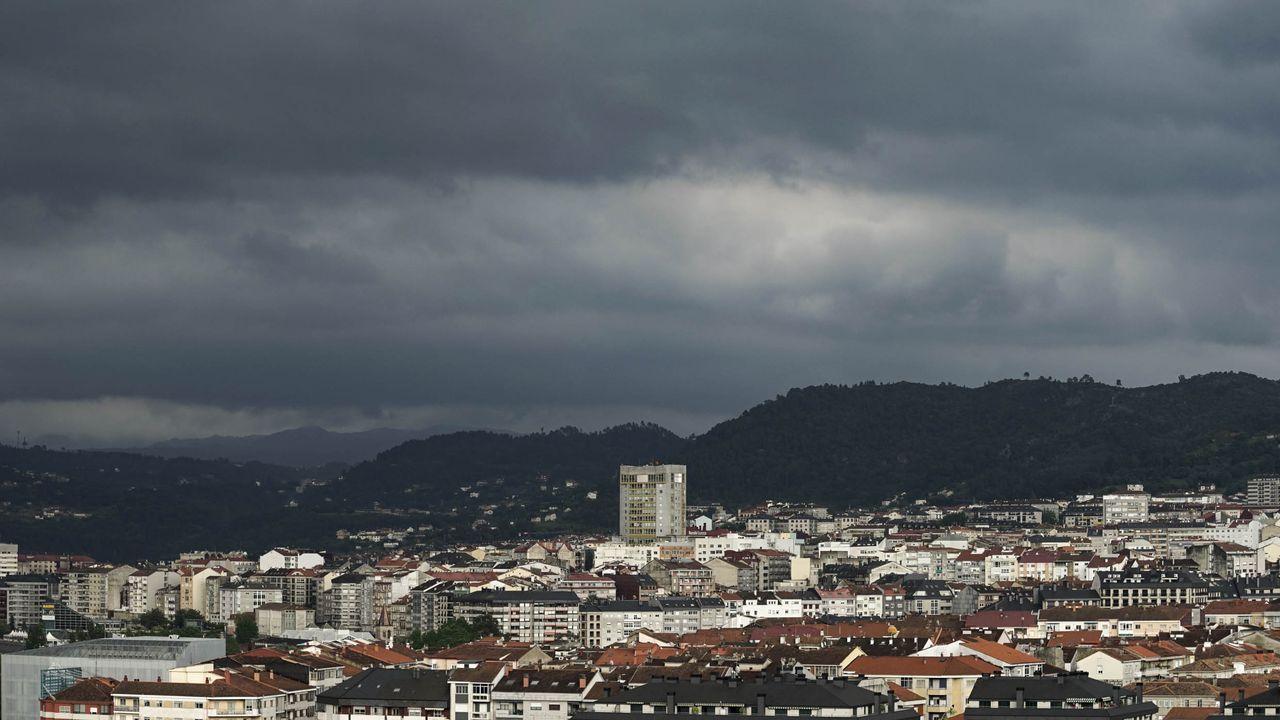 Nubes de tormenta en Ourense