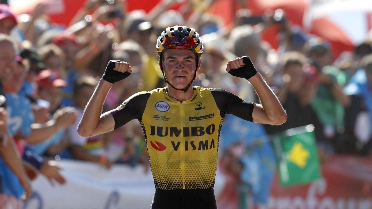La Vuelta descubre el Acebo