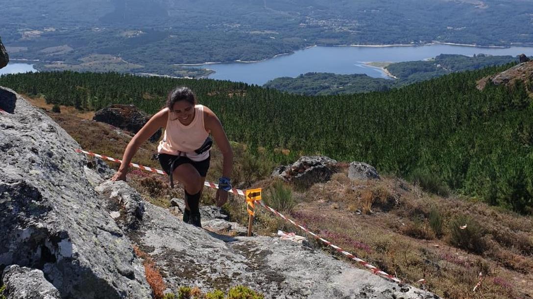 Trail y andaina Asaltamontes en Xunqueira de Ambía