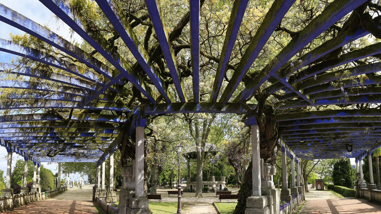 O parque de Rosalía celebra o seu centenario