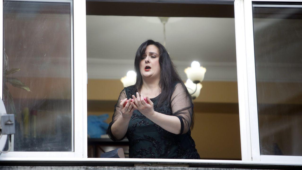 Lourdes Santos, soprano y profesora del Conservatorio de Lugo