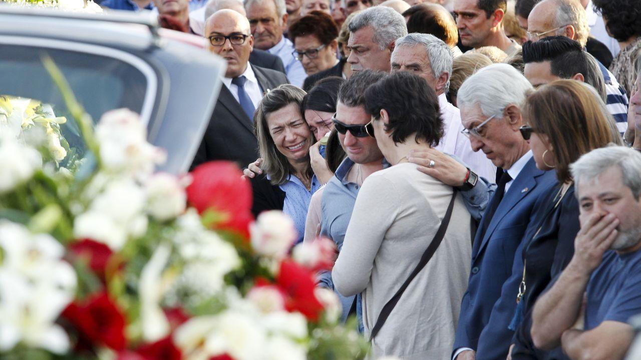 Las escenas de dolor se repitieron el miércoles, cuando fueron enterradas las tres mujeres