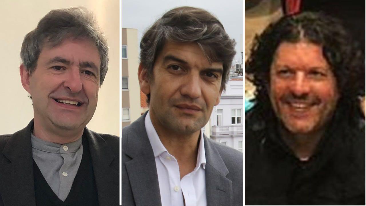 Alexandre Carrodeguas, Jorge Suárez y Carlos del Río