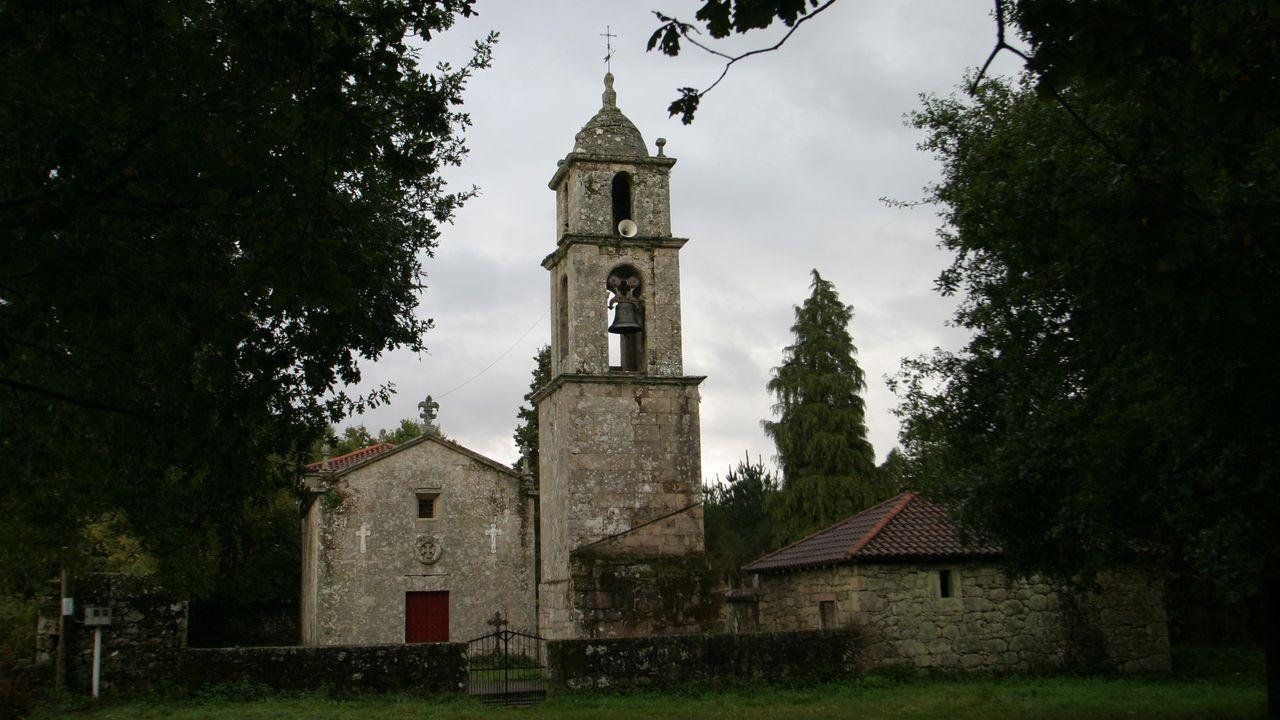 Una visita en imágenes al Carreiro do Castro de Seceda.El recorrido pasará por la iglesia de Santiago de Castillón, entre otros lugares