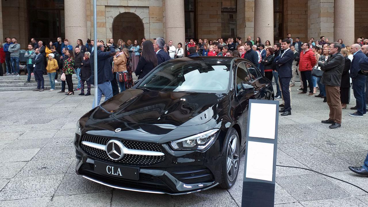 Presentación en la Laboral del nuevo Mercedes CLA Coupé