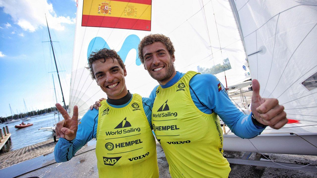 Deportistas gallegos con aspiraciones de ir a los Juegos Olímpicos de Tokio 2020.Pacheta, durante el encuentro ante el Real Oviedo