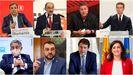 Los ocho presidentes autonómicos convocados a la reunión de Santiago