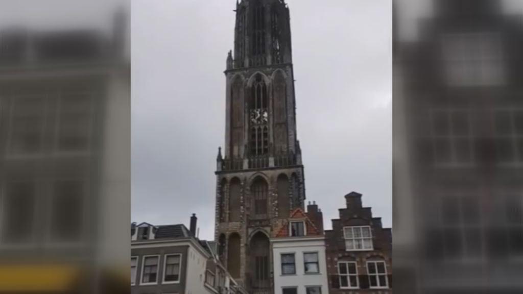Así suena Avicii en el campanario de la Dom Tower de Utrecht.La sede de Duro Felguera