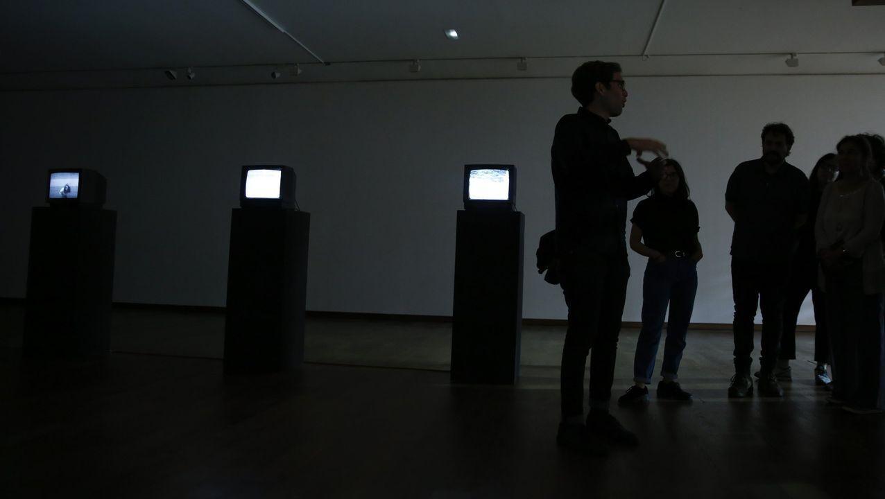 Videoinstalaciones en la Fundación Luis Seoane de A Coruña. Imagen de archivo