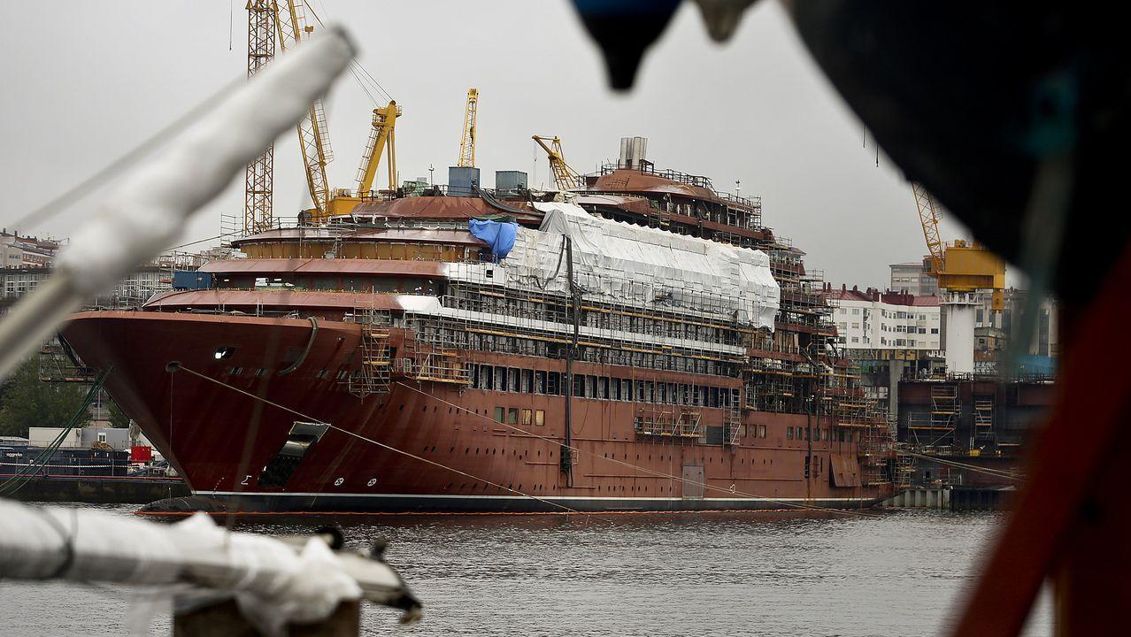 La industria auxiliar naval, lista para terminar los encargos de Barreras.Douglas Prothero, consejero delegado de la compañía