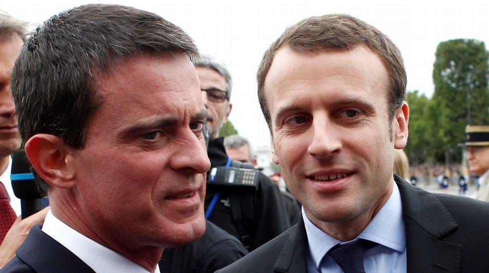 Miles de personas reclaman en Barcelona «seny» y un nuevo Govern.Manuel Valls