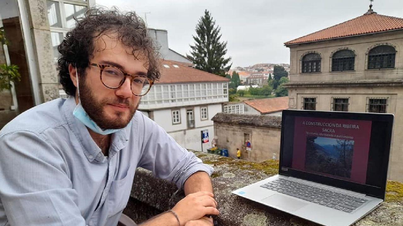 Manuel Leiras é natural da Pobra do Brollón e veciño de Monforte