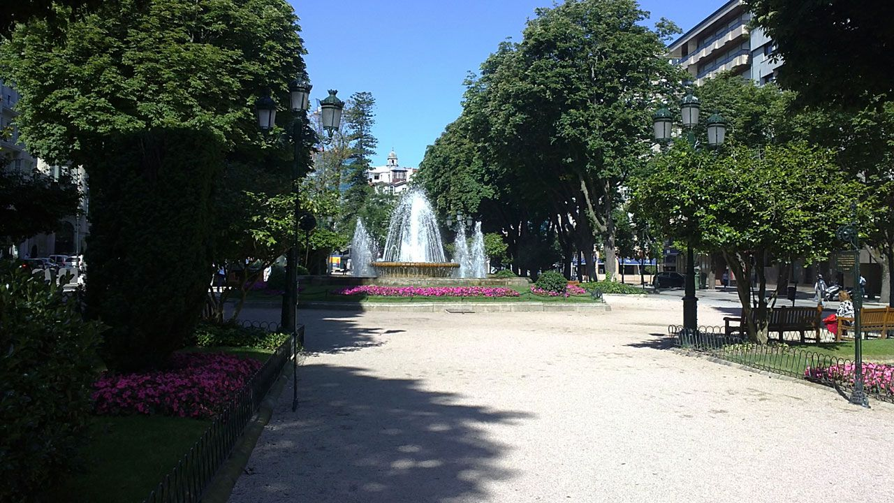 Plaza de Compostela