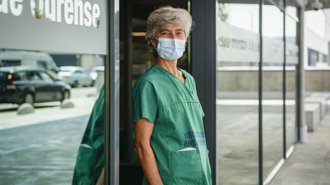 María Bustillo, especialista de la Unidad de Enfermedades Infecciosas del CHUO