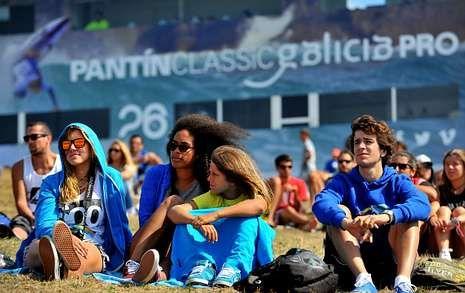 Las imágenes del Pantín Classic 2013.El buen tiempo propicia la asistencia de público desde la apertura del campeonato.