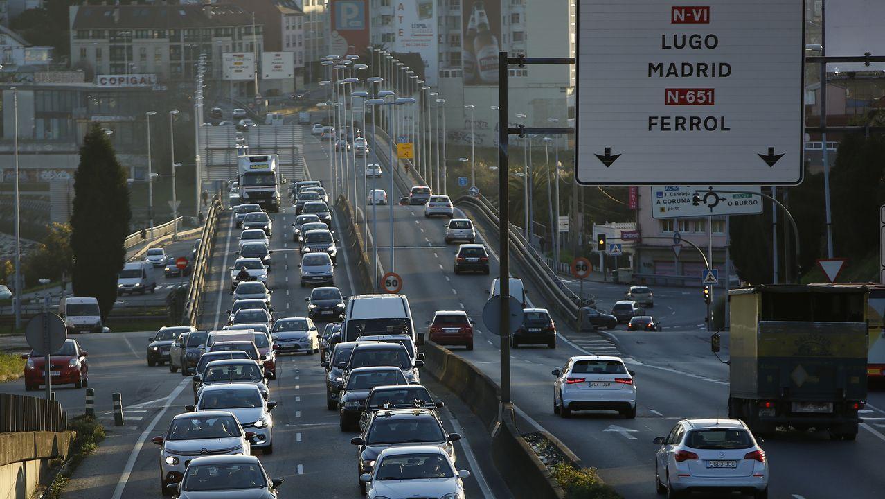 Recorremos la A-55, la autovía más peligrosa de España.Mercedes Fernández en el congreso del PP