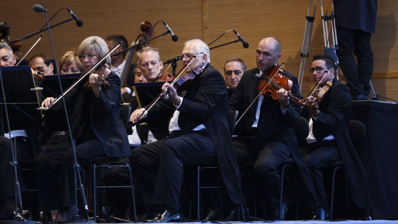 Imagen de archivo de una actuación de la Orquesta Sinfónica de Galicia