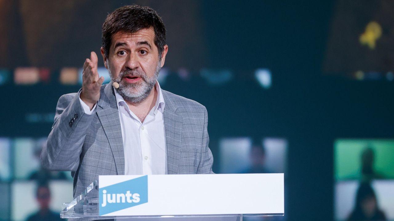 En directo | Comparecencia de Pedro Sánchez tras el Consejo de Ministros.El secretario general de Junts per Catalunya y expresidente de ANC, Jordi Sànchez, interviene en un acto de campaña