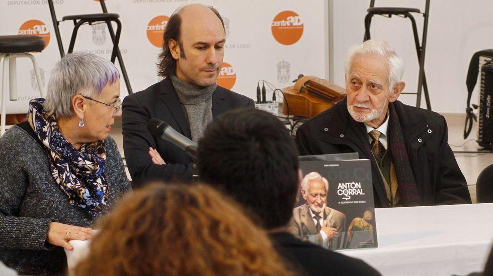 Presentación do libro sobre Antón Corral
