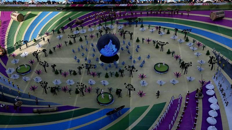 La ceremonia inaugural del Mundial