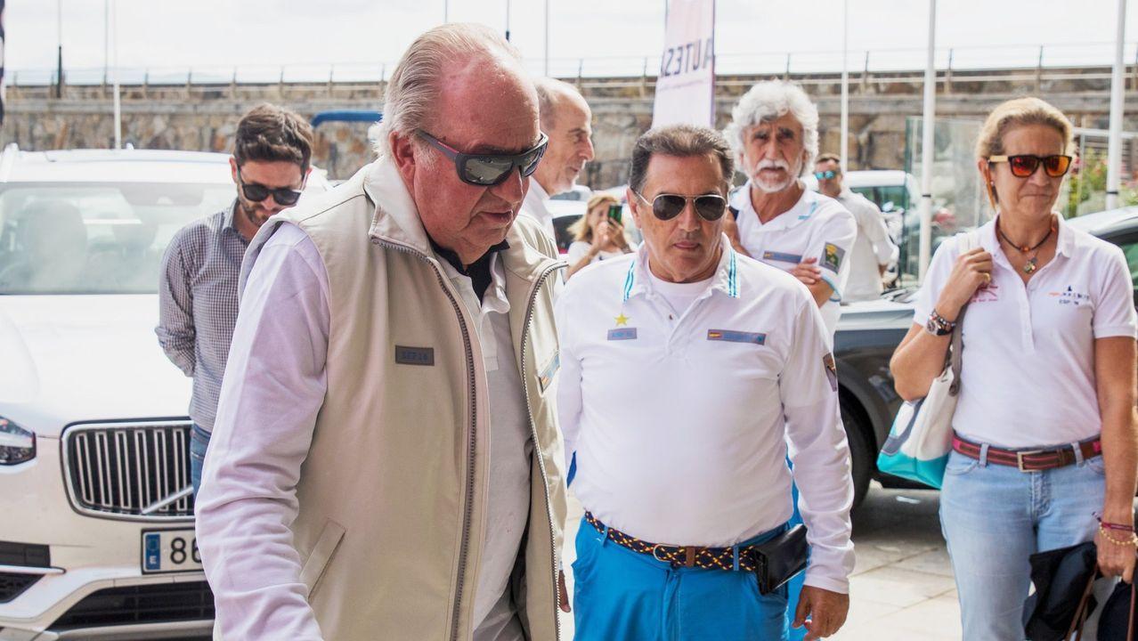 El Rey Juan Carlos reaparecía en septiembre de 2018 para disfrutar de una de sus grandes pasiones. El emérito se subió a bordo del Bribón para participar en la 4º Regata Rey Juan Carlos I El Corte Inglés Master, en Sanxexo