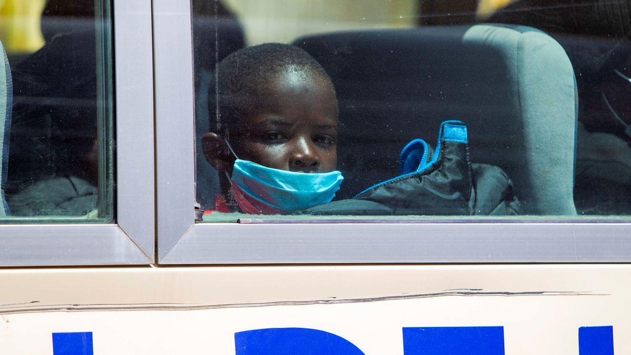 El mundo toma el pulso a la pandemia.Entre los deportados hay 50 menores de edad