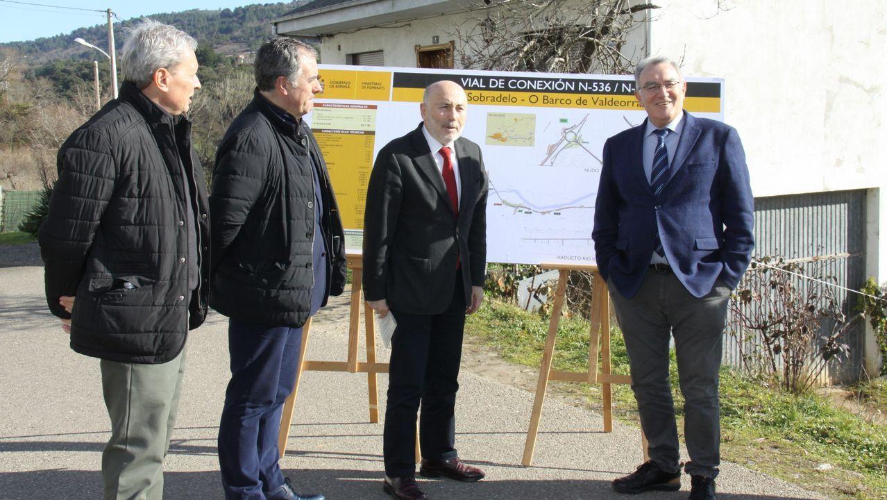 El edil de Medio Ambiente, Aurentino Alonso, y el alcalde, Alfredo García, presentaron el proyecto