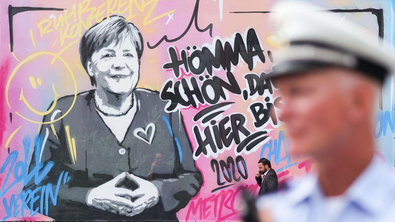 Manifestación en Berlín contra las restricciones anticovid del Gobierno alemán