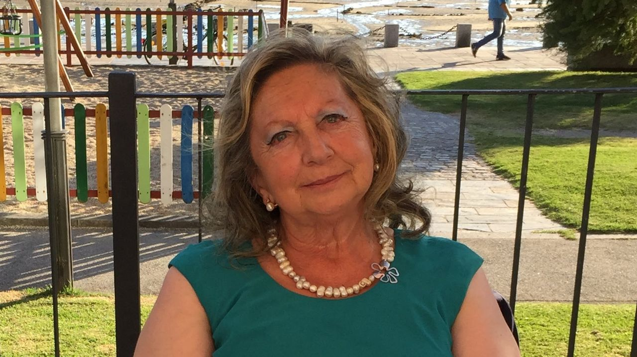 José Martínez Couselo .María Teresa Miras Portugal, en O Carballiño