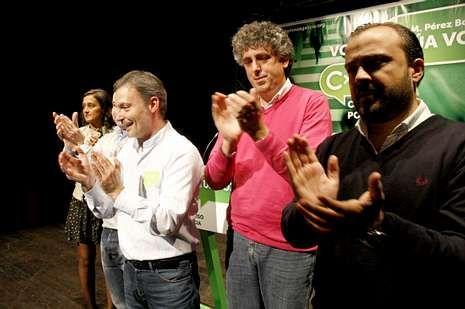 CxG celebró su mitin central de Galicia en Ourense.