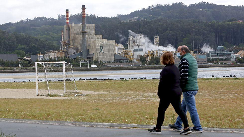 Factoría de Arcelor en Veriña