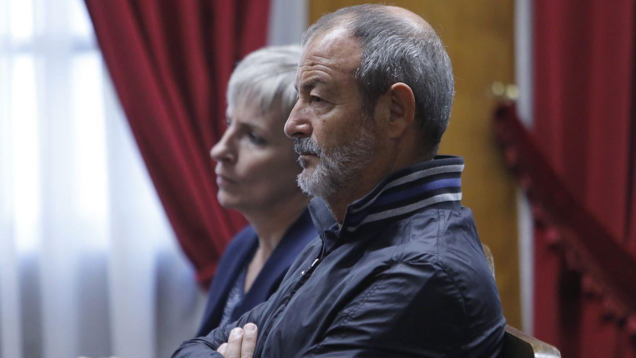 La normalidad del 10N en Santiago.La alcaldesa de Marín, María Ramallo (PP)