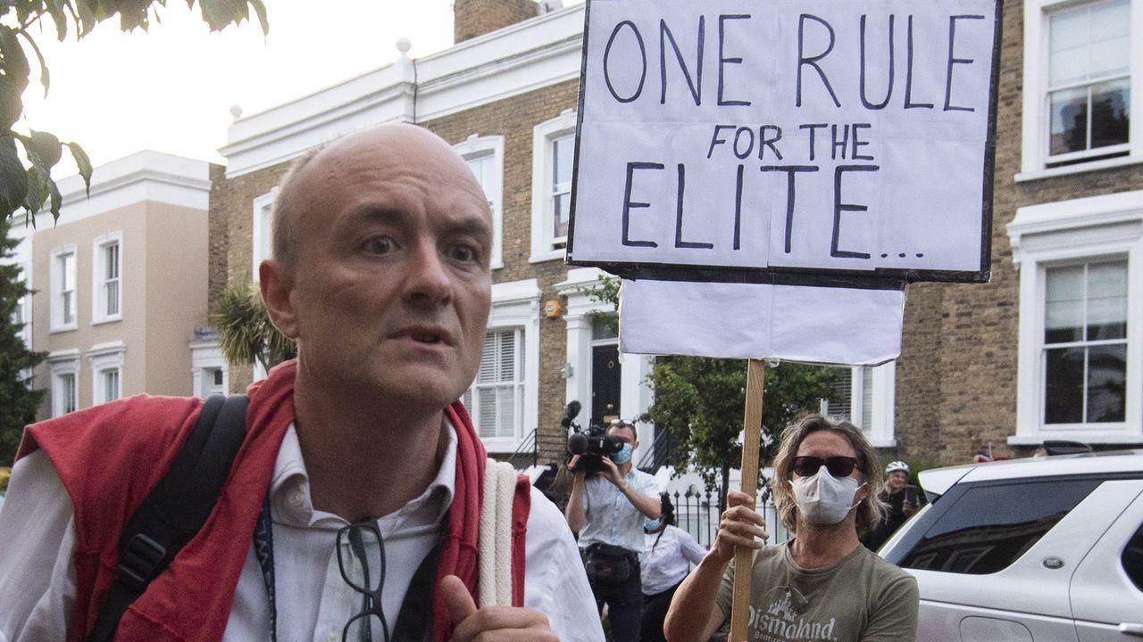 Cummings sigue en el centro de la polémica en el Reino Unido