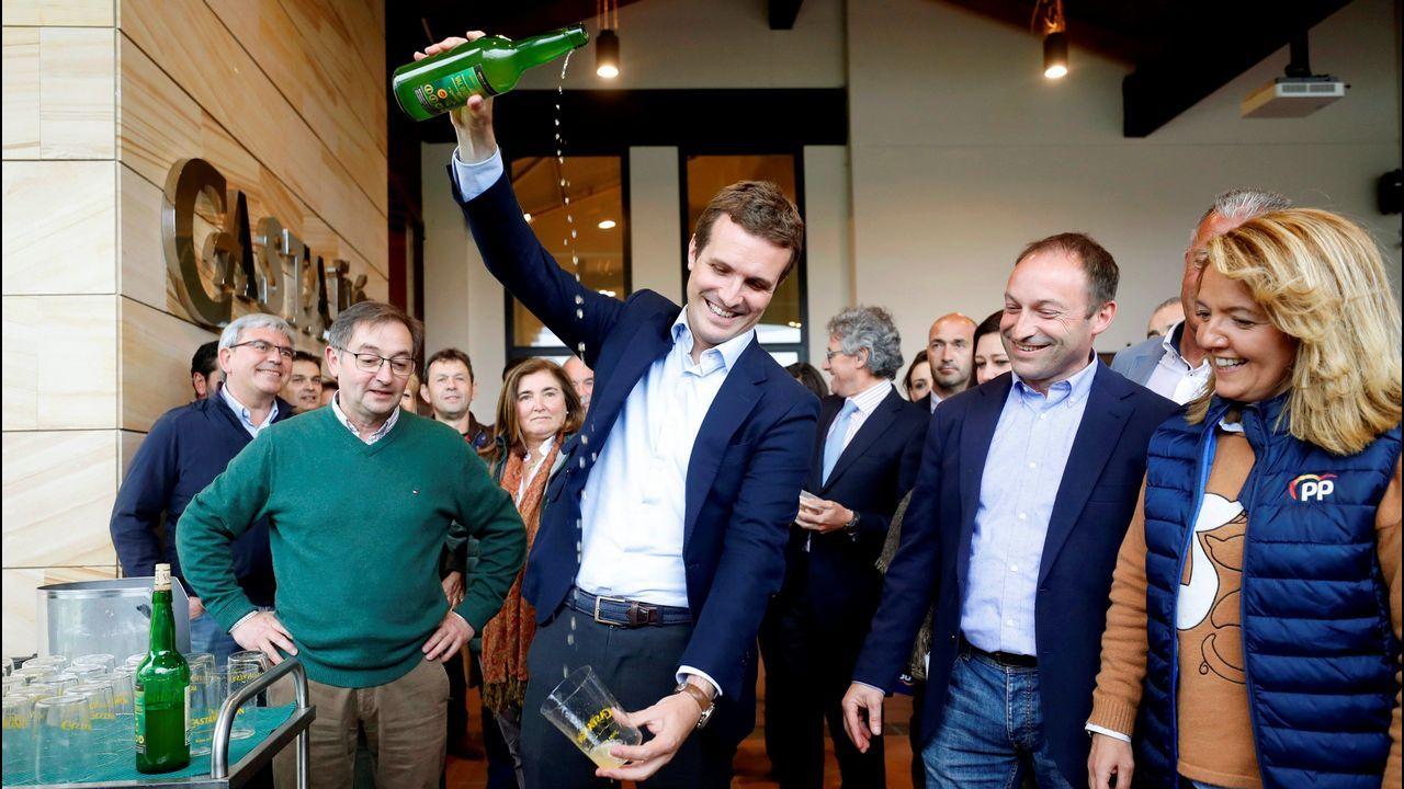 Casado aterriza en Asturias.CANDIDATURA CERRADA (Santiago). Xosé Sánchez Bugallo: Exalcalde y candidato único
