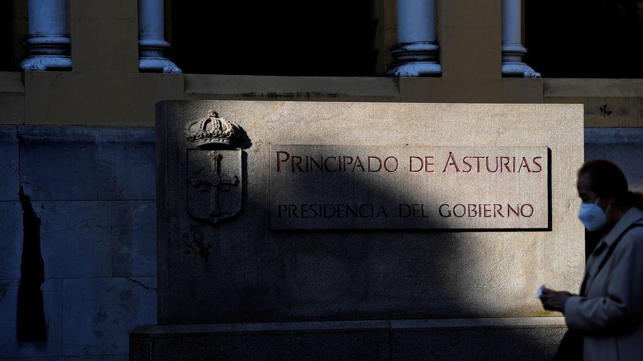 El edificio de Presidencia del Principado de Asturias