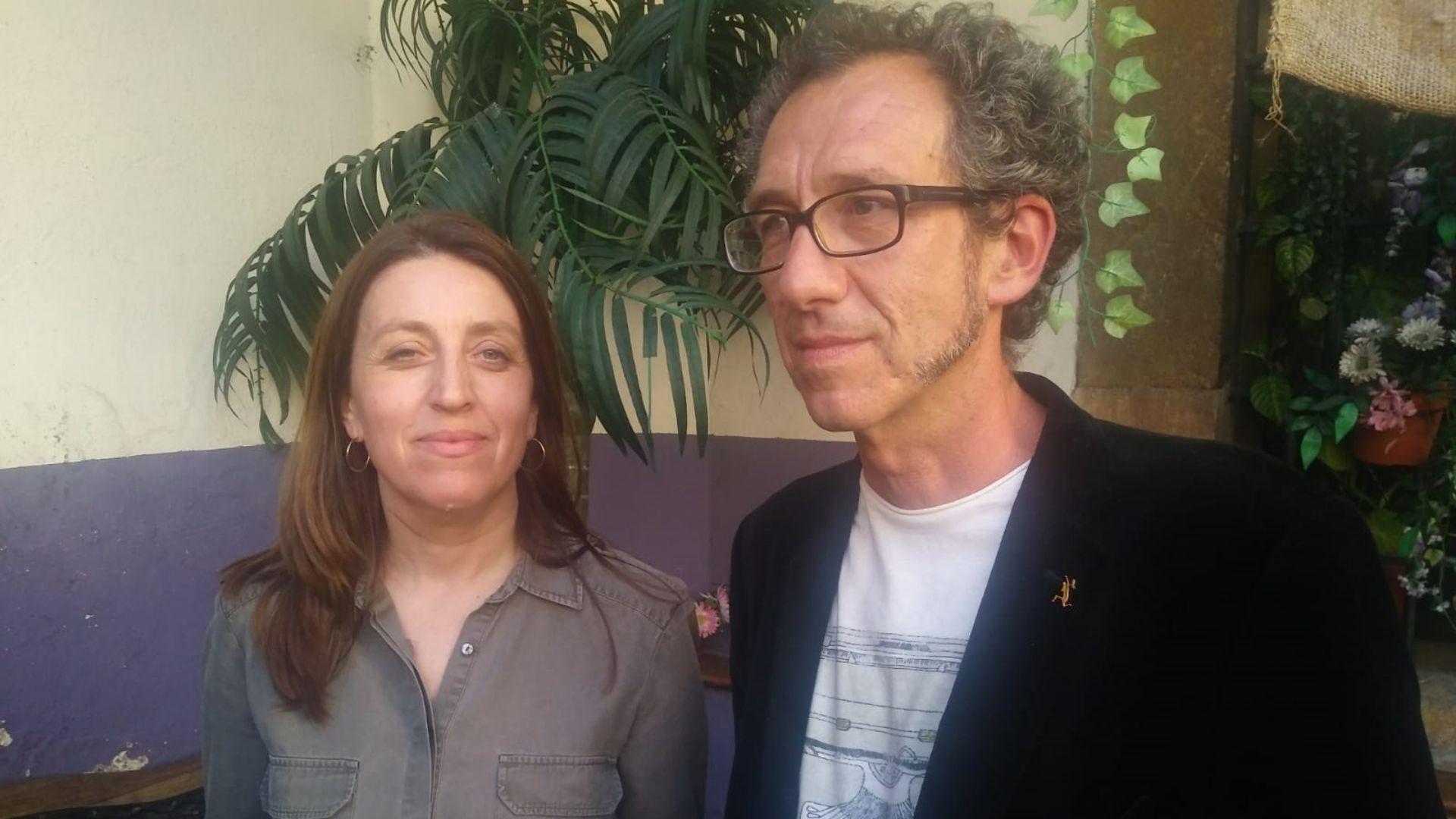 Lorena Gil y Ricardo Menéndez Salmón