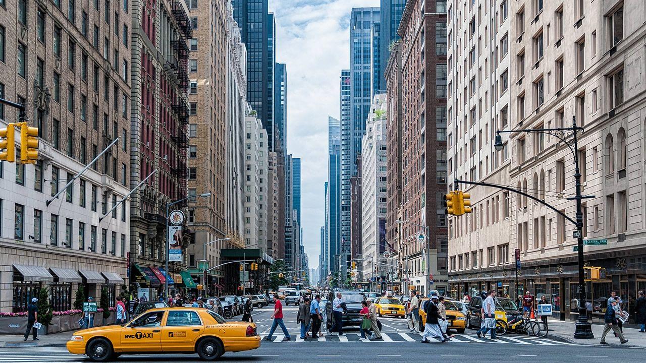 Imagen de una calle de Nueva York