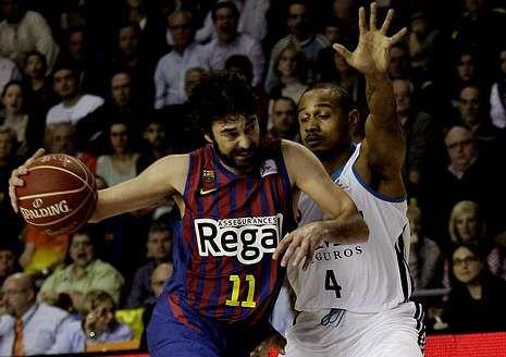 Resumen de lo más destacado de la madrugada del domingo en la NBA.Juan Carlos Navarro, frente a Dontaye Draper.