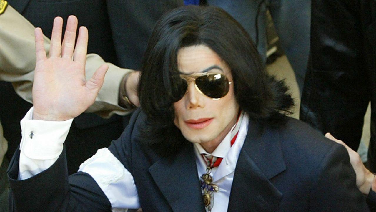Cuando Michael Jackson desfiló con la Policía Nacional