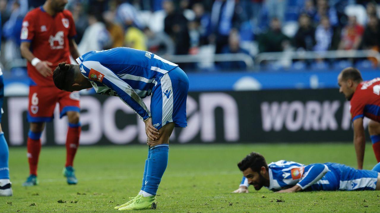 Las imágenes del Sporting de Gijón - Deportivo.El Deportivo está obligado a reaccionar el domingo en el inicio de la segunda vuelta