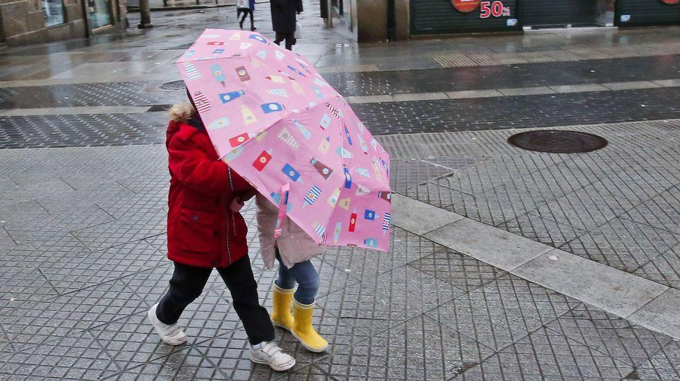 ¡No sin mi paraguas!