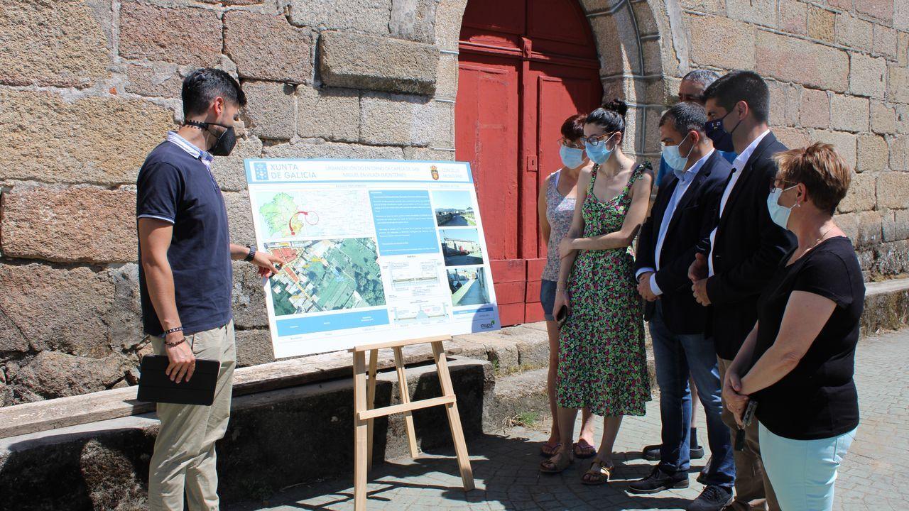 La Xunta invertirá 75.000 euros en la mejora del entorno de la capilla de San Miguel de Vilaza, en Monterrei