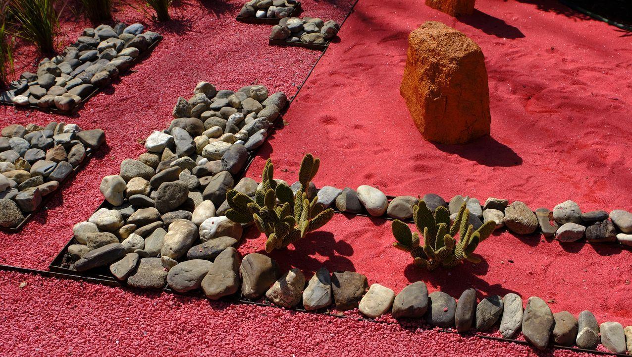 Descalzos no xardín. Las italianas Isotta Cortesi y Gisela Bartolini firman este jardín que profundiza en la realización de las películas y tiene secuencias, narrativa y actores.