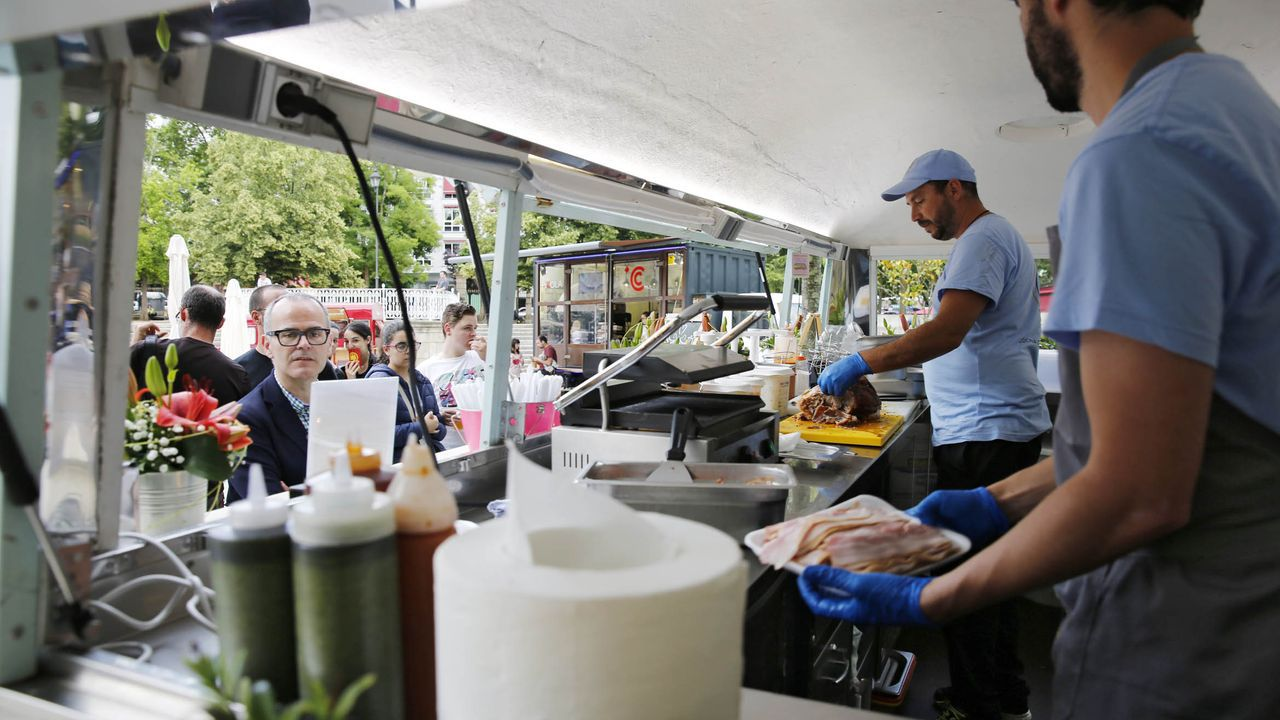 Imagen de archivo de la II Food Truck Fest de Ourense
