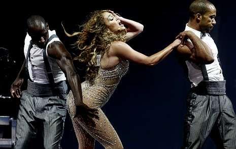 Jennifer Lopez durante un concierto celebrado el pasado mes de junio en Santiago de Chile.