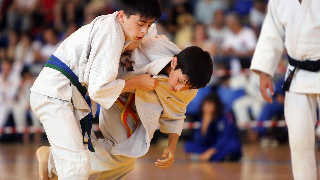Campeonato de judo en Cambados