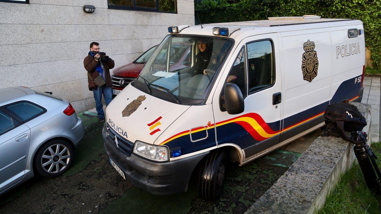 La operación provocó el ingreso en prisión de tres narcos arousanos