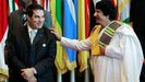 Ben Alí y Gadafi, en el 2010, un año antes de que la Primavera Árabe los expulsara del poder
