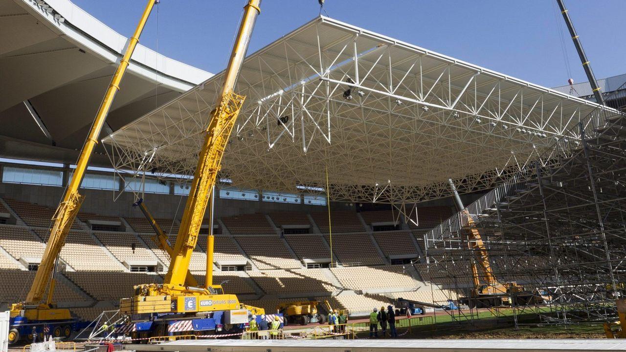 Así son los estadios del Mundial de Catar.Chuny Bermúdez de Castro, en una imagen de archivo